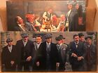 """2 Different Peaky Blinders Canvas Prints 24""""x10"""" On a wooden frame, lovely items"""