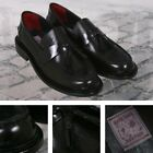 Delicious Junction Perforated Toe Tassel Loafers Mod Shoe Black