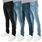 Loyalty & Faith Mens Skinny Stretch Ripped Jeans Denim Pants Distressed Trousers