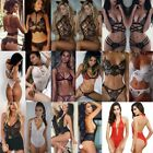 Womens Sexy Lingerie Lace Underwear Babydoll Sleepwear Nightwear G-string Dress