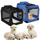 Dog Crate Soft Sided Pet Carrier Foldable Training Kennel Portable Cage 2 Colors