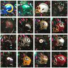 NFL AMERICAN FOOTBALL MINI HELMET CHRISTMAS TREE DECORATION - CHOOSE YOUR TEAM $6.21 USD on eBay