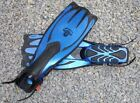 Typhoon Pro1 Adjustable Boot Fins Scuba Dive Strapped Diving Fin Size 6.5-8.5 UK