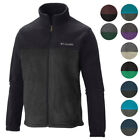 Columbia NEW Two Tone Colorblock Mens Original Winter Fleece Jacket $60