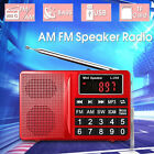 Portable Digital AM FM SW Radio Receiver with MP3 Speaker Player LCD Display