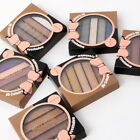 5 Colors Eyeshadow Palette Makeup Luminous Shimmer Beauty Cosmetic Beauty