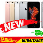 New & Sealed Unlocked APPLE iPhone 6S Plus + 16 64 128GB Rose Gold Grey Silver