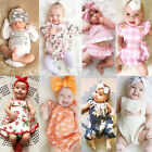 Fashion Toddler Newborn Baby Boy Girl Romper Bodysuit Jumpsuit Outfit Clothes