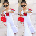 Kids Baby Girls Toddler Summer Floral Romper Jumpsuits Trousers Outfits Clothes