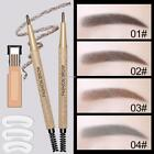Hot Women Waterproof Eyebrow Pencil With Brush Make Up Cosmetic Beauty Tool
