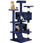 New 51.2&quot; Cat Tree Tower Condo Furniture Scratching Post Pet Kitty Play House <br/> 4 Colors! Ship from CA &amp; NY &amp;CHI! 1-4 Days Shipment!
