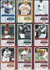 2017 Panini Contenders Season Ticket Baseball cards - Pick the ones you want !!