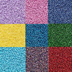 3000 Tiny Round Glass Seed Beads Loose Ming Tree #11 Translucent Colors 11/0