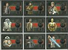2017 Topps Star Wars The Last Jedi Medallion Relic Insert Card - YOU PICK $11.95 USD