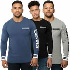 Loyalty & Faith Mens Printed T Shirt Graphic Long Sleeve Casual Crew Neck Tee
