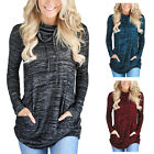 New Fashion Women Sweatshirts Crew Neck Long Sleeve Jumper Pullover Blouse Tops