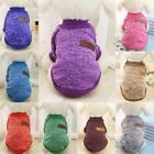 Pet Clothes Jumper Dog Suppy Warm Coat Dress Apparel Knitwear Fashion Puppy