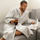 Внешний вид - Alpine Swiss Aiden Mens Cotton Terry Cloth Bathrobe Shawl Collar Velour Spa Robe