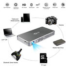 Portable 8500 Lumens Android 3D DLP Projector Wifi BT 4K HD 1080P Video Cinema