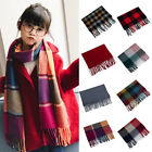 Внешний вид - Winter Scarf Fashion Kids Baby Plaids Scarf Boy Girl Neckerchief Head Neck