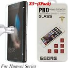 5x Tempered Glass Film Screen Protector For Huawei P8/P9/P10Plus/Lite Honor6 8 9