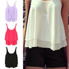 sexy white shirt - Summer Women Sexy Vest Top Sleeveless Halter Blouse Casual Tank Top T-Shirt USA
