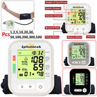 Automatic Digital Upper Arm Blood Pressure Monitor Heart Beat Meter Cuff Lot