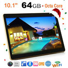 10.1inch Octa-Core Android Tablet PC 4+64G Dual Camera WIFI 3G OTG Phablet SALE