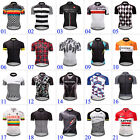 2018 New Mens Cycling Sports Wear Bike Riding Apparel Tops Short Sleeve Jerseys