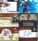 Football Autograph cards - Various Years and Brands - Pick your Favorites !!!