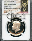 2017 S Silver Kennedy Half Dollar NGC PF70 Ultra Cameo (SIGNATURE LABEL)