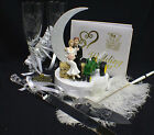 Tractor John Deere Country Western Wedding LOT Cake Topper Glasses Knife Book