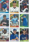 2015 Topps Heritage Minors Baseball Base cards - Complete Your Set !!