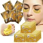 10 Pairs Crystal Collagen Gold Under Eye Gel Pad Face Mask Anti Aging Wrinkles