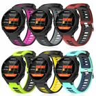 Silicone Replacement Watch Band Wriststrap Bracelet For Garmin Forerunner 735XT