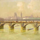 EMILE CLAUS Houses Of Parliament London CANVAS or PAPER ! various SIZES