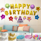 Large Happy Birthday Self Inflating Balloon Banner Bunting Party Decoration YG