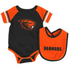 Oregon State Beavers Colosseum Roll-Out Infant One Piece Outfit and Bib Set