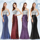 Ever-Pretty Mermaid Pageant Dresses 2017 Prom Bridesmaid Evening  Dress 08372