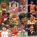 TOPICAL Times Football Annual A4 retro picture poster Manchester Utd - VARIOUS