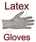 Latex Gloves - Pack Of 100 With Free Postage