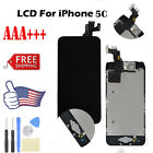 LCD Touch Screen Digitizer For iPhone 5C With Button & Camera &Earspeaker &Tools