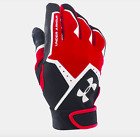 Brand New Under Armour Boy's Clean Up VI Batting Gloves Size S, M, L, or OSFA фото