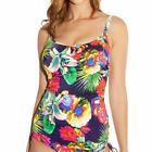 Fantasie Cayman Tankini Swimwear 5688 Navy/Multi Built-in Bra