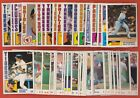 chris fill - 1984 Topps Tiffany - Pick One - Fill Your Set - #1-#299