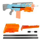 Worker MOD F10555 Pump Grip Kit 3 Color 3D Printing for Nerf LongShot Modify Toy