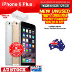 (NEW SEALED BOX) APPLE IPHONE 6 Plus 4G LTE UNLOCKED Grey Silver Gold PHONE AA^0
