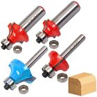 "TUNGSTEN CARBIDE ROUTER BITS 1/2"" 1/4"" Shank TCT Wood Joining Cutter Shaping"