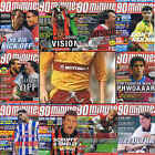 90 Minutes football magazine A4 player picture poster Motherwell – VARIOUS