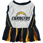San Diego Chargers Cheerleader Pet Outfit - Gridiron Classic Teams $10.95 USD